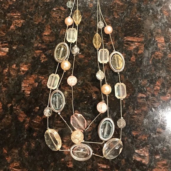 New York & Company Jewelry - New York and Company Pastel Necklace
